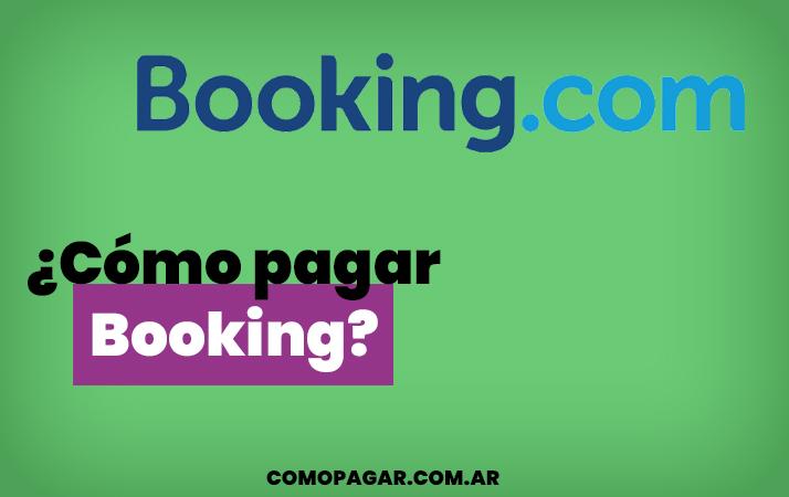 como pagar booking